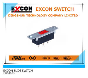 Wholesale Slide Switches: Slide Switch (VS12) Excon Power Slide Switch
