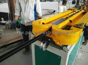 Wholesale plastic pipe line: Plastic Single Layer Pipe Extrusion Machine, PE Single Wall Pipe Line