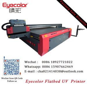 Wholesale ricoh gen5 uv ink: Eyecolor High Quality 3020 Flatbed UV Printers Ricoh GEN5 Printhead UV LED Flatbed Printer for Glass