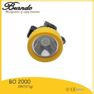 Wholesale led headlamp: BO 2000 Industrial Underwater LED Cordless Mining Headlamp
