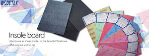 Wholesale shoe material: Nonwoven Insole Board for Shoe Materials