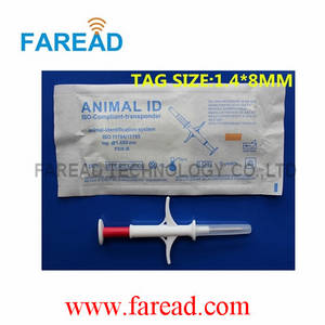 Wholesale injector: RFID Animal ID  Microchip Injector ,1.4*8mm/10mm Syringe
