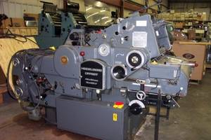 Wholesale paper machinery: Heidelberg Kord 64 Offset Paper Printing Machinery