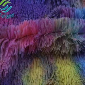 Wholesale plush toy: New Design Colorful Rainbow Pv Plush Toy Fabric