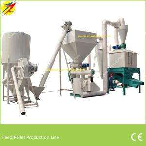 Wholesale Animal Husbandry Equipment: Animal Premix Feed Pellet Production Line,1-5tph