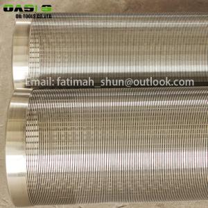 Wholesale wedge wire screen: Hot Sale Water Well Screen Wedge Wire Screen with Good Price