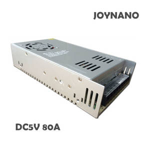 Wholesale ac dc power supply: JoyNano 400W Switching Power Supply 5V 80A AC-DC Converter