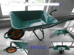 Wholesale barrow wheel: Strong Wheel Barrow WB4202,WB6400,Sold To South Africa