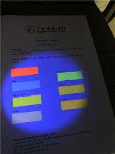 Wholesale uv printing: Screen Printing UV Fluorescent Invisible Ink for Paper