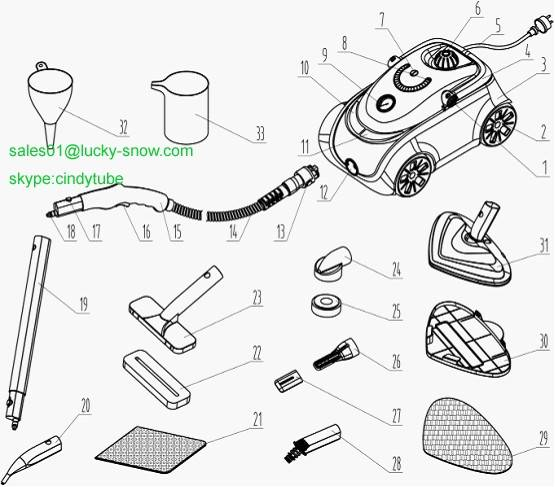 Instruction Manual For Car Cleaner Ls-02 - Ningbo Lucky Snow