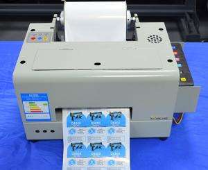 Wholesale water based pigment: Roll Digital Color Waterproof Barcode Label Printer Machine