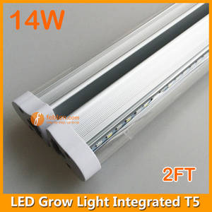 Wholesale LED Lamps: 2FT 14W LED Grow Tube Light Replace Traditional Fluorescent Lamp