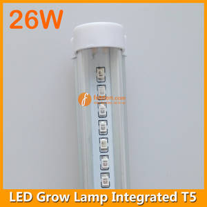 Wholesale led grow lamp: 26W High Power LED Grow Lamp Integrated T5 4FT