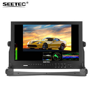 Wholesale camera usb: 17.3 3G-SDI/ HDMI Production Monitor with FHD 1920x1080 Waveform Vector Scope Histogram P173-9DSW