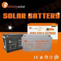Sell long life time 150AH deep cycle soalr gel battery for solar system
