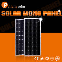 100w Mono the Lowest Price China Pv Solar Panel