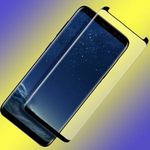 Wholesale Screen Protectors: Trending Proucts 3D Full Cover Case Friendly Tempered Glass Screen Potector for  Galaxy S8