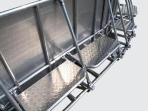 Wholesale galvanized perforated metal sheet: Stage Barrier