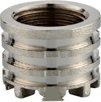 Nickle Plated Brass Female Insert PPR Pipe Fittings/Brass Fittings/PPR Fitings/Insert Fittings