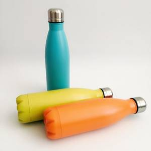 Wholesale water flask: Double Wall Stainless Steel Water Bottle Vacuum Flask