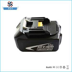 Wholesale replacement battery: Power Tool Replacement Battery, 18V 6000mAh Li-ion for Makita