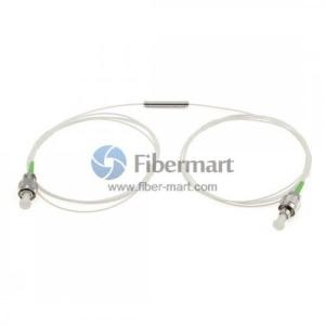 Wholesale dwdm fiber optic: 1M FC/APC 1550nm 900um Dual Grade Jacket Tube Mini Size Optical Isolator