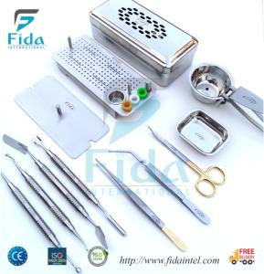 Wholesale dental kit: PRF Instruments Box Dental Implant Surgical Kit
