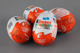 Wholesale truck: Kinder Surprise: