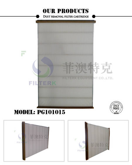 blow molding: Sell Washable Polyester Pleat Panel Filter