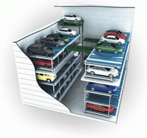 Wholesale rotary car parking: Mechanical Parking System