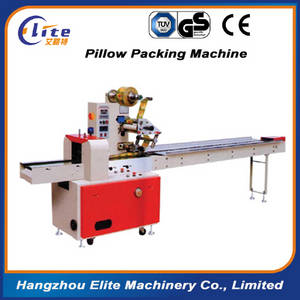 Wholesale pillow packing machine: Red Good Quality Pillow Bag Food Packing Machines