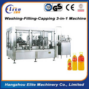 Wholesale filling washing capping: Washing-Filling-Capping 3-IN-1 Bottled Liquid Packing Machine Hot Sale