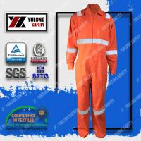 Permanent Fireproof En 11612 Flame Prevention Aramid Coverall