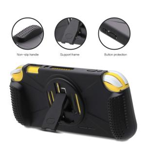 Wholesale game pad: Protective Hard Cover Case for Nintendo Switch Lite with Padded Hand Grips and Kickstand Firstsing