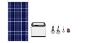 Wholesale power generators: Portable Solar Panels Charging Generator Power System with LED Firstsing