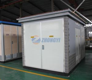 Wholesale aluminum plate panels: ZBW Type Prefabricated Substation          ,Mobile Transformer Substation