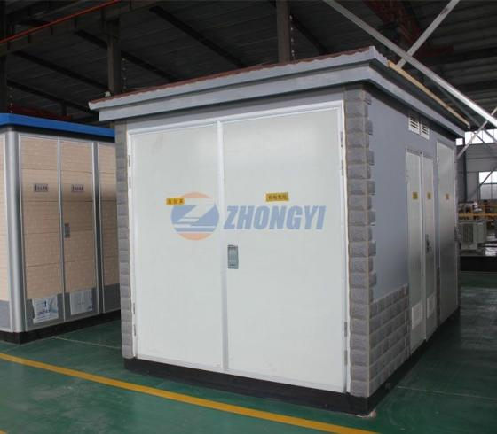 ZBW Type Prefabricated Substation          ,Mobile Transformer Substation