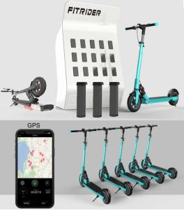 Wholesale Scooters: Sharing Escooter System Customization Fitrider T2 Escooter