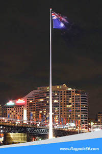 Wholesale flagpole: Huge Steel Flagpole