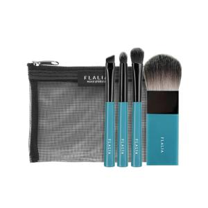 Wholesale Makeup Brush: [FLALIA] 4MINI Portable Makeup Brush Set