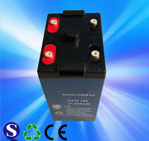 Wholesale medical beauty equipment: 3 Years Warranty Rechargeable Solar Battery 2v 500ah Battery