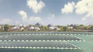 Wholesale power plants: Floating PV Power Plant System