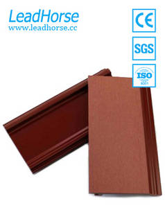 Wholesale wpc wall panel: Waterproof Solid Wall Wpc Panel Boards