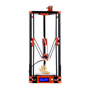 Wholesale delta: FLSUN Delta Kossel 3D Printer DIY Kit with Heated Bed Auto Leveling (Pulley Version)