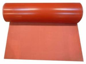 Wholesale high temperature fiberglass sleeving: Silicon Rubber Coated Fiberglass Fabric