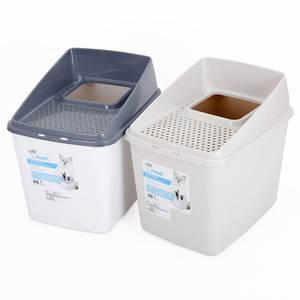 Wholesale pet litter: Cat Toilet Litter Pot PET Supplies Double Layer Semi-Closed Ventilation Removable Big Space
