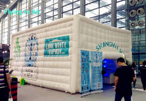 Wholesale inflatable cube tent: Advertising PVC Tent Inflated/ Inflatable Cube Tent for Exhibition