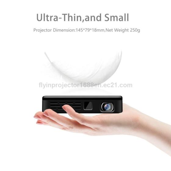 Family Essential LED Multimedia Projector Mini Wifi Portable Projector 4k Home Rojection