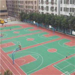 Wholesale Rubber Products: Anti-UV/ Anti-skid/ Anti-aging Basketball Tennis Badminton Acrylic Sports Court Coating Material