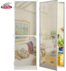 Wholesale interior doors: Customer Color Interior and Outdoor Mosquito Fixed Frame Door
